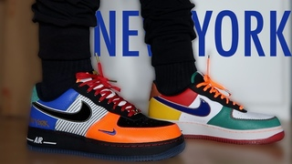 """*NEW YORK EXCLUSIVE* Nike Air Force 1 Low """"What the NY"""" REVIEW/ON-FEET"""