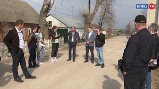 На трёх улицах Ельца: Северная, Александра Матросова и Фрунзе в ближайшее время начнутся работы по укладке асфальта