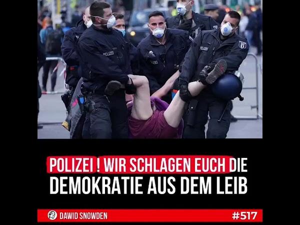01 08 2020 Polizei wir schlagen euch die Demokratie aus dem Leib