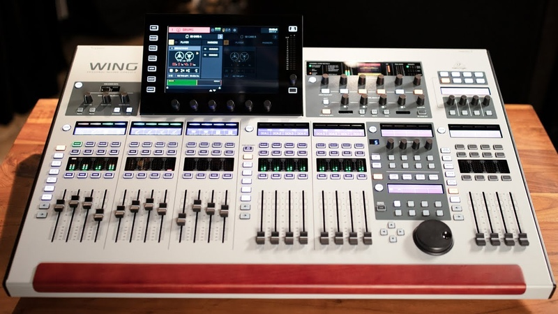 Behringer WING 48-Ch. Digital Mixer | Overview and Demonstration