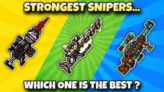 NERFED Morgana VS Anti Champion Rifle VS Conductor of Souls Damage Test - Pixel Gun 3D