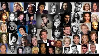 JFK Jr, ELVIS, LENNON, DIANA, MJ, MORRISON, MARLEY, MERCURY, PRINCE, COBAIN, TUPAC more !!