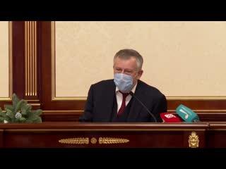 100 дней после выборов губернатора Ленинградской области - пресс-конференция