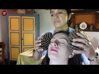 DOÑA BLANCA - SPIRITUAL CLEANSING, LIMPIA, CUENCA, ASMR MASSAGE, Pembersihan spi
