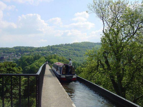 Великобритания. Уэльс. Акведук Понткисиллте, изображение №5