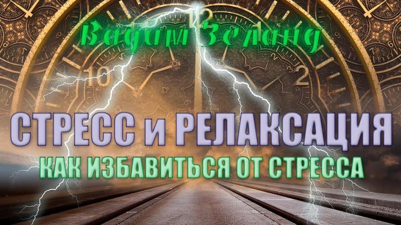 Вадим Зеланд Стресс и релаксация Как избавиться от стресса