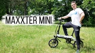 Електровелосипед про який мріє кожен - Огляд Maxxter Mini.