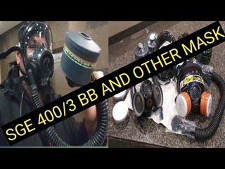 SGE 400/3 BB Gas Mask And Other Mask...