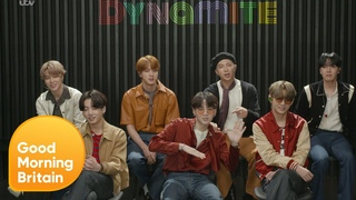 BTS Talk Their New Single Dynamite and a Surprise Singalong to Harry Styles | GMB